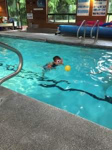 Swimming Blaise