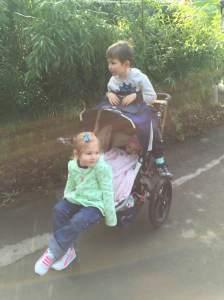 Triple Stroller