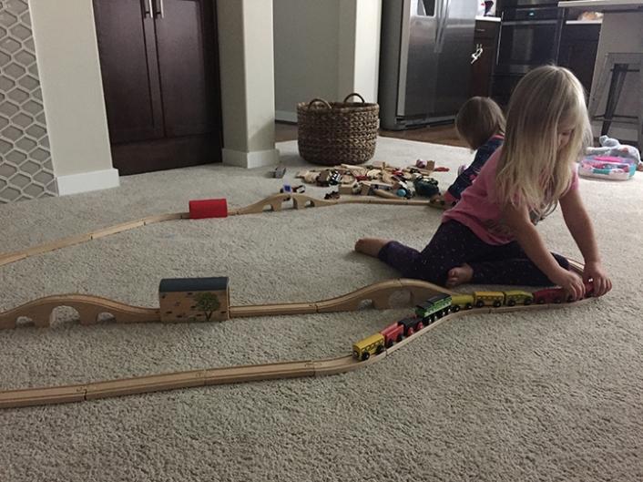 Train Girls