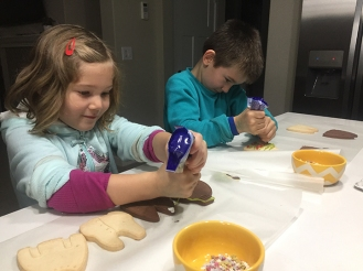 Cookie decorators.