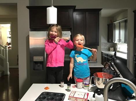 Cupcake makers.