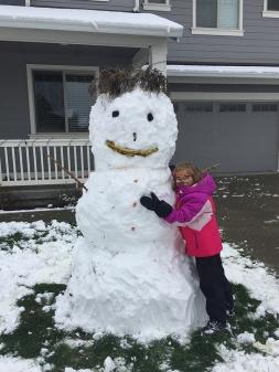 Snowman Laine.