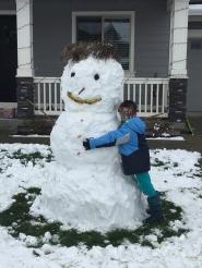 Snowman Blaise.